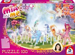 Schmidt Puzzle 56033 Mia and Me, Centopias Einhörner, 100 Teile, ab 6 Jahre