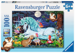 Ravensburger 10793 Puzzle Im Zauberwald 100 teile