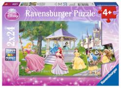 Ravensburger 08865 Puzzle Disney Princess - Zauberhafte Prinzessinnen 2x24T.