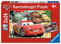 Ravensburger 08959 Puzzle Disney Cars Neue Abenteuer 2 x 24 Teile