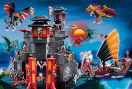 Playmobil, Asia-Drachenland, 100 Teile, (inkl. Figrur)