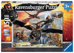Ravensburger 10015 Puzzle Dragons Drachenzähmen leicht gemacht 150 Teile