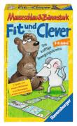 Ravensburger 233410  Mauseschlau & Bärenstark Fit und Clever Mitbringspiel