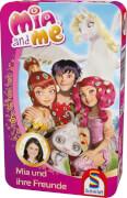 Schmidt Spiele 51267 Mia and Me, Mia und ihre Freunde, Mitbringspiel in der Metalldose, 2 bis 4 Spieler, ab 6 Jahre