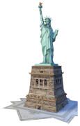 Ravensburger 125845 Puzzle 3D: Freiheitsstatue, 108 Teile