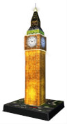 Ravensburger 12588 Puzzle 3D Big Ben Night Edition 216 Teile