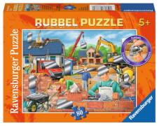 Ravensburger 75102  Rubbel Puzzle Spaß auf der Baustelle 80 Teile