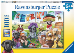 Ravensburger 105960  Puzzle Bunter Waschtag  100 Teile