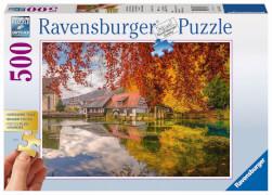 Ravensburger 13672 Puzzle Gold Edition Mühle am Blautopf 500 Teile