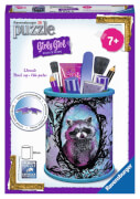 Ravensburger 120789  3D Puzzle Girly Girl Edition Utensilo Animal Trend, 54 Teile