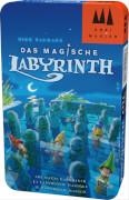 Schmidt Spiele 51401 Drei Magier Spiele, Das magische Labyrinth, Mitbringspiel in der Metalldose, 2 bis 4 Spieler, ab 5 Jahre