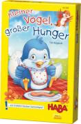 HABA - Kleiner Vogel, großer Hunger, für 2-4 Spieler, ca. 15 min, ab 3 Jahren