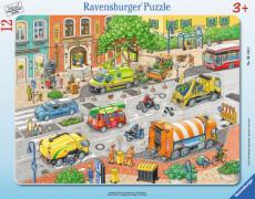 Ravensburger 06135 Rahmenpuzzle Lebendige Stadt 12 Teile