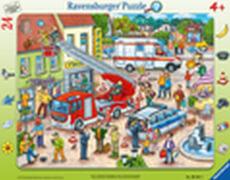 Ravensburger 06581 Rahmenpuzzle 110, 112 - Eilt herbei! 24 Teile