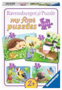 Ravensburger 06952 My First Puzzle Süße Gartenbewohner 2 / 4 / 6 / 8 Teile
