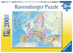 Ravensburger 12837 Puzzle Politische Europakarte 200 Teile