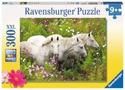 Ravensburger 13218 Puzzle Pferde an der Blumenwiese 300 Teile