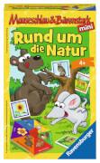 Ravensburger 234332 Mauseschlau & Bärenstark Rund um die Natur Mitbringspiel