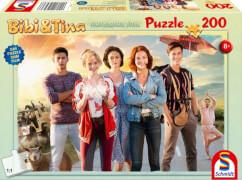 Schmidt Puzzle 56236 Bibi & Tina, Puzzle zum Film 4, Tohuwabohu Total, 200 Teile, ab 8 Jahre