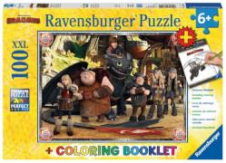 Ravensburger 137015 Puzzle Hicks und seine Freunde 200 Teile
