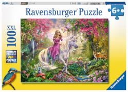 Ravensburger 10641 Puzzle Einhörner 100 Teile