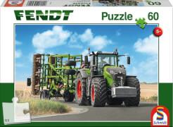 Schmidt Puzzle 56255 Fendt 1050 Vario mit Amazone Grubber Cenius, 60 Teile, ab 5 Jahre