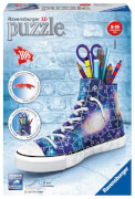 Ravensburger 112197 Puzzle: 3D Sneaker Galaxy Style, 108 Teile
