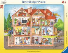 Ravensburger 06154 Puzzle: Blick ins Haus 30 Teile