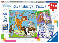 Ravensburger 08043 Puzzle: Disney Freunde 3x49 Teile