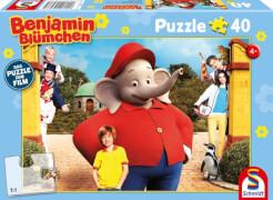 Schmidt Spiele Puzzle Benjamin Blümchen Kinofilm Motiv 2