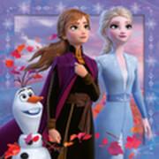 Ravensburger 05011 Puzzle: Disney Die Eiskönigin 2 3x49 Teile