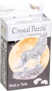 Crystal Puzzle - Wolf Schwarz 37 Teile