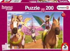 Schmidt Spiele Puzzle: Unterwegs zum Drachenberg, 200 Teile
