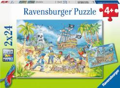 Ravensburger 05089 Puzzle Die Abenteuerinsel 48 Teile
