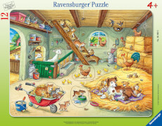 Ravensburger 05092 Puzzle Bauernhofbewohner 12 Teile