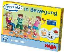 HABA - Ratz Fatz - In Bewegung, ab 3 Jahren
