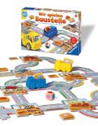 Ravensburger 247264 Wir spielen Baustelle, Lernspiel