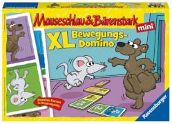 Ravensburger 213542 Mauseschlau & Bärenstark XL Bewegungsdomino