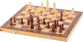 Natural Games Schachkassette, Strategiespiel, ca. 40x20x6 cm, für 2 Spieler, ab 8 Jahren