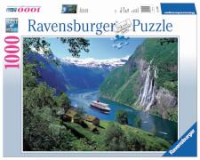 Ravensburger 15804 Puzzle Norwegischer Fjord 1000 Teile