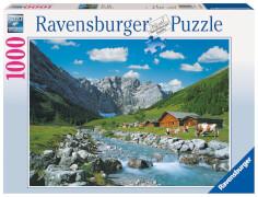 Ravensburger 19216 Puzzle Karwendelgebirge, Österreich 1000 Teile
