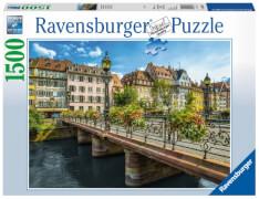 Ravensburger 163571 Puzzle: Sommerliches Straßburg 1500 Teile