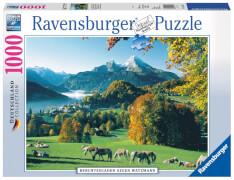 Ravensburger 157419  Puzzle Berchtesgaden gegen Watzmann 1000 Teile