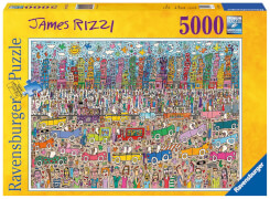 Ravensburger 174270  Puzzle Nothing is as pretty as a Rizzi City 5000 Teile