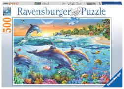 Ravensburger 14210 Puzzle Bucht der Delfine 500 Teile