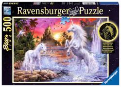 Ravensburger 14873 Puzzle Einhörner am Fluss 500 Teile