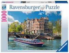Ravensburger 19138 Puzzle Grachtenfahrt in Amsterdam 1000 Teile