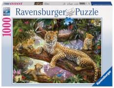 Ravensburger 19148 Puzzle Stolze Leopardenmutter 1000 Teile