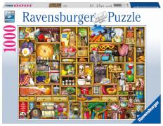 Ravensburger 19298 Puzzle Kurioses Küchenregal 1000 Teile