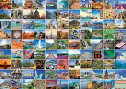 Ravensburger 19371 Puzzle 99 Beautiful Places on Earth 1000 Teile
